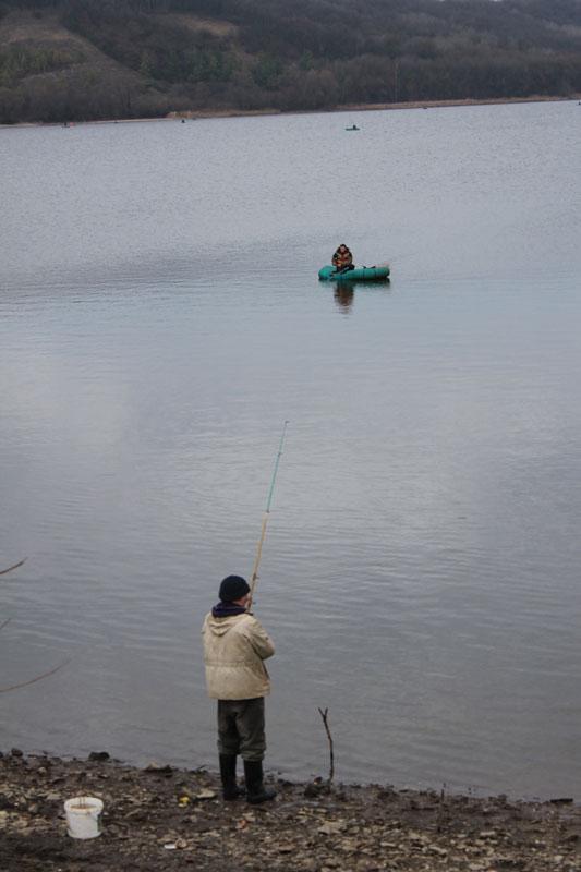 Белгородские рыбаки